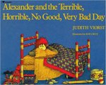 Reading Comprehension Lessons for Alexander and the Terrible Horrible No Good Very Bad Day