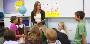 Elementary teacher guided reading