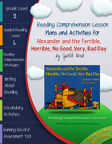 Alexander and the Terrible, Horrible, No Good, Very Bad Day Lesson Plans and Activities
