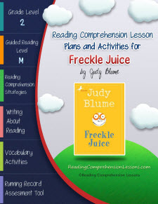 Freckle Juice Lesson Plans and Activities