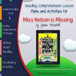 Miss Nelson is Missing Lesson Plans