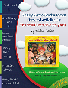 Miss Smith's Incredible Storybook Lesson Plans and Activities