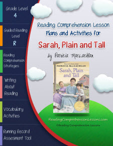 Sarah Plain and Tall Lesson Plans and Activities