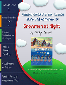 Snowmen at Night Lesson Plans and Activities