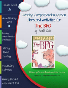 The BFG Lesson Plans and Activities