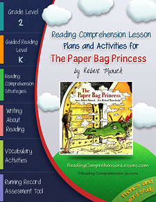 The Paper Bag Princess Lesson Plans and Activities