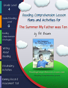 The Summer My Father Was Ten Lesson Plans and Activities