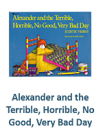 Alexander and the Terrible Horrible No Good Very Bad Day Lesson Plans