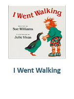 I Went Walking Lesson Plans