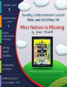 Miss Nelson Is Missing Lesson Plans and Activities