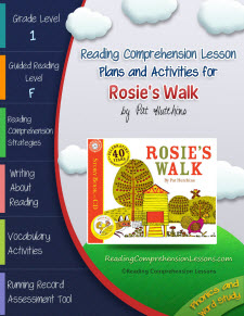 Rosie's Walk Lesson Plans and Activities