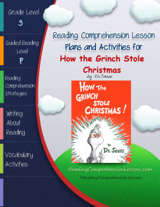 ... the How the Grinch Stole Christmas Lesson Plans and Activities Package