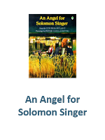 An Angel for Solomon Singer Lesson Plans