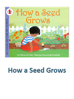 How a Seed Grows Lesson Plans