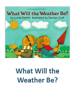 What Will the Weather Be Lesson Plans