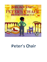 Peter\'s Chair Lesson Plans